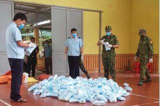 Tin tức pháp luật ngày 04/8: Bắt giữ 22.000 khẩu trang nhập lậu tại Lạng Sơn