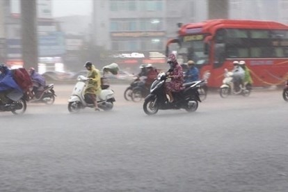 Tin tức thời tiết ngày 5/8/2020: Cả nước trời nhiều mây và có mưa, khu vực nội thành Hà Nội mưa dông