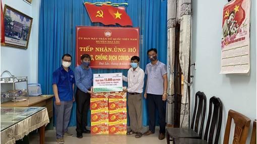 Trà Thanh Nhiệt Dr Thanh tiếp sức cho đồng bào, chiến sĩ tại Quảng Nam