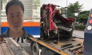 Lái container đè xe con bẹp dúm khiến 3 người tử vong, tài xế khai gì?