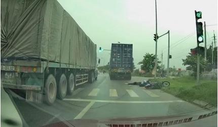 Truy tìm tài xế container tông cô gái tử vong rồi bỏ chạy