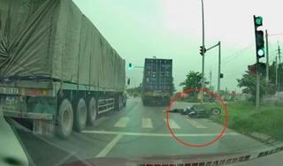 Tìm thấy tài xế container vượt ẩu cán chết nữ sinh rồi bỏ chạy