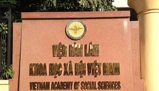 Thanh tra việc cấp bằng thạc sĩ, tiến sĩ của Viện Hàn lâm khoa học xã hội Việt Nam