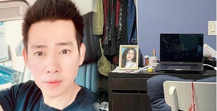 Sau 4 tháng Mai Phương qua đời, Phùng Ngọc Huy lộ diện với vẻ ngoài tiều tụy