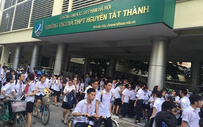 Trường đầu tiên ở Hà Nội hạ điểm chuẩn vào lớp 10 năm 2020