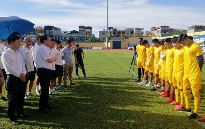 Bảng xếp hạng sẽ thay đổi khi Thanh Hóa bỏ giải V.League
