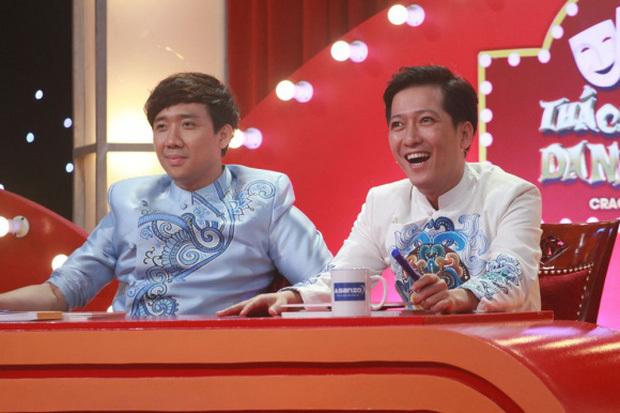 Trường Giang kể chuyện 'dở khóc dở cười' khi đứng cạnh 'người đàn ông thơm nhất showbiz' Trấn Thành
