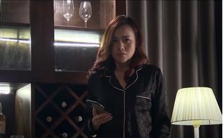 'Lựa chọn số phận' tập 35: Trang nổi điên khi phát hiện Cường qua đêm với tình cũ