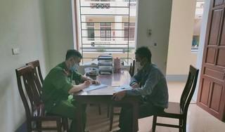 Phạt người đàn ông ở Nghệ An về từ vùng dịch không khai báo y tế