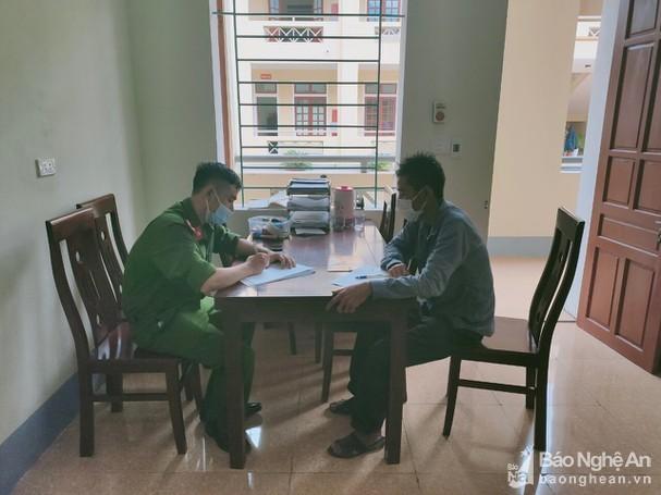 Phạt người đàn ông ở Nghệ An về từ vùng dịch nhưng không khai báo y tế