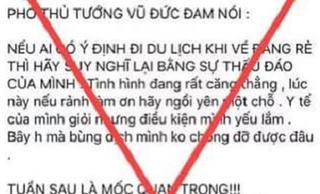 Cô gái Hà Nội bị xử phạt vì đăng tin thất thiệt về Covid-19