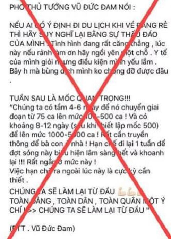 Tung tin thất thực, cô gái Hà Nội bị xử phạt