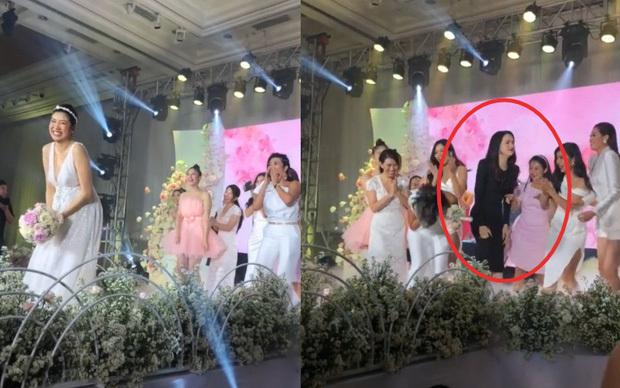 Thúy Vân tung hoa cưới 'gây bão' với khoảnh khắc bắt hụt của Hương Giang