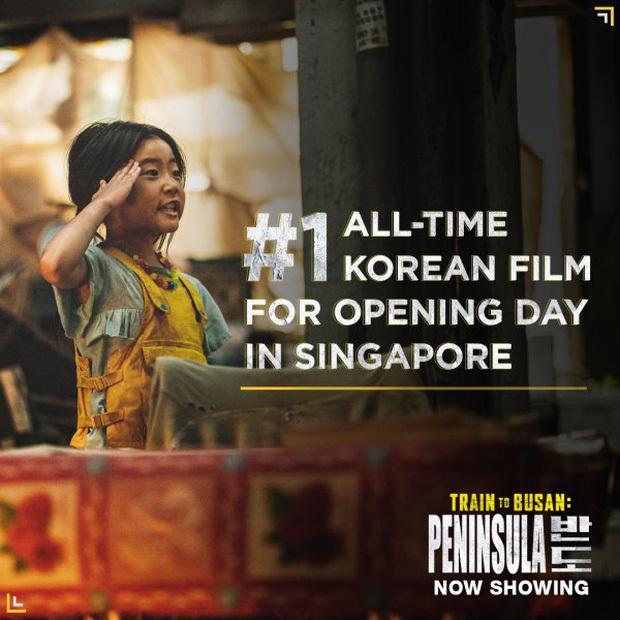'Peninsula' chính thức vượt mặt 'Parasite' để trở thành phim Hàn có doanh thu cao nhất tại Việt Nam