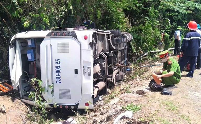 Khởi tố tài xế điều khiển xe gây tai nạn thảm khốc tại Quảng Bình