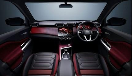Lộ diện nội thất của Nissan Magnite
