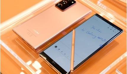 Giá bán bộ ba Galaxy Note20 ở Việt Nam