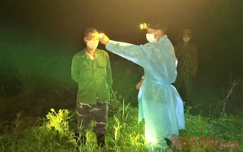 Phát hiện 2 công dân nhập cảnh trái phép từ Campuchia vào Việt Nam