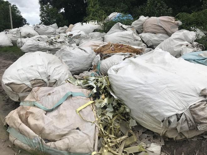 Bắt quả tang đối tượng chôn lấp rác thải y tế không qua xử lý