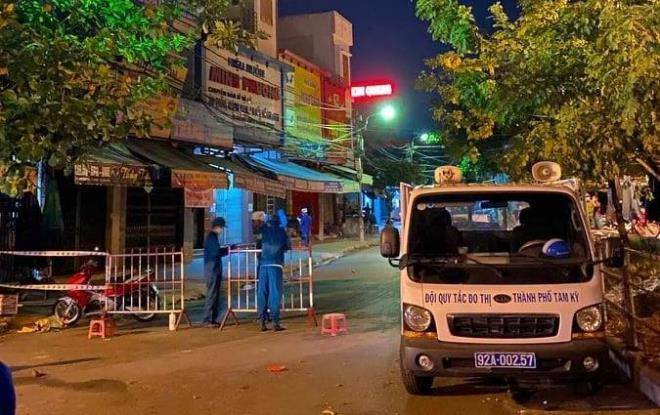 Quảng Nam cách ly khẩn cấp một trường hợp nghi nhiễm Covid-19 tại TP Tam Kỳ