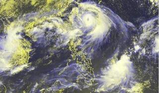 Vùng áp thấp mới đã mạnh lên thành áp thấp nhiệt đới trên Biển Đông
