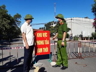 Phong tỏa 3 khu vực TP. Đông Hà và một tầng của Bệnh viện Quảng Trị