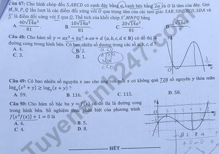 mã đề 117 đề thi môn Toán 5