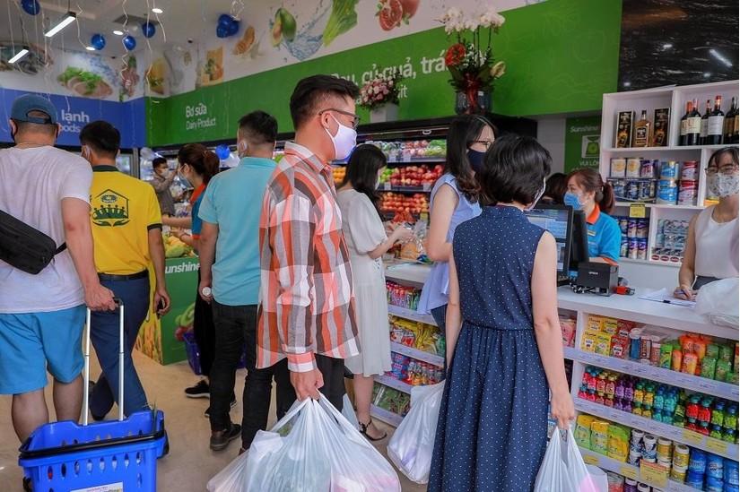 Đáp ứng tiện ích cho cư dân, Sunshine Group khai trương siêu thị thứ 5