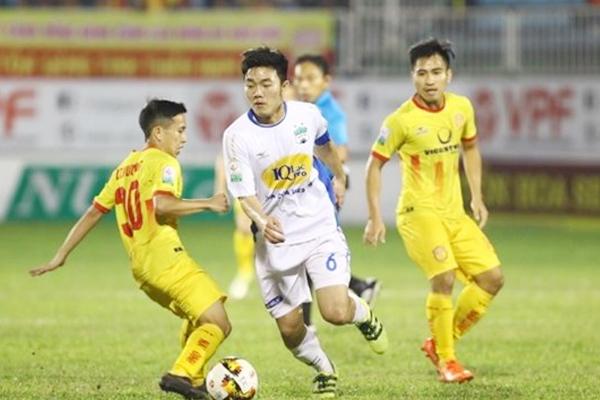 HAGL chính thức hội quân cùng với Sài Gòn FC và TP. HCM