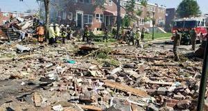 Nổ lớn ở Mỹ khiến nhiều ngôi nhà bị san phẳng