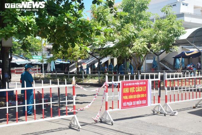 Quảng Nam phong tỏa chợ đêm Tam Kỳ và một tổ dân phố do liên quan ca bệnh 841