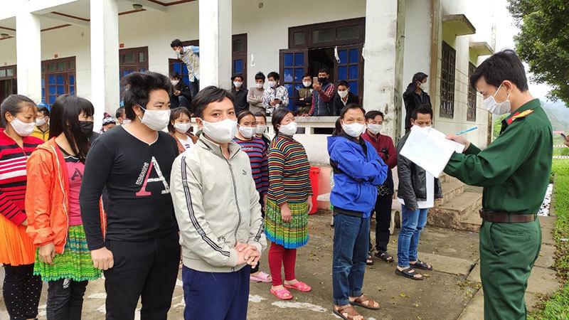 Trường hợp F1 ở Lai Châu liên quan đến bệnh nhân 751 có kết quả âm tính lần 1