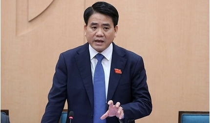 Chủ tịch UBND TP Hà Nội Nguyễn Đức Chung bị đình chỉ công tác