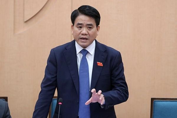 Tạm đình chỉ công tác Chủ tịch UBND TP Hà Nội
