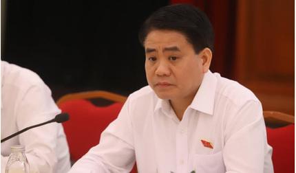 Chủ tịch thành phố Hà Nội bị đình công tác chỉ vì liên quan đến 3 vụ án
