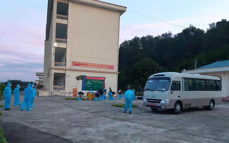 Nam Định cách ly 140 công dân trở về từ Liên bang Nga