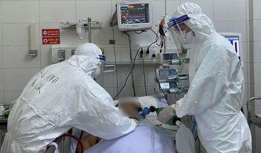Bệnh nhân nam 55 tuổi mắc Covid-19 tử vong - mega 645