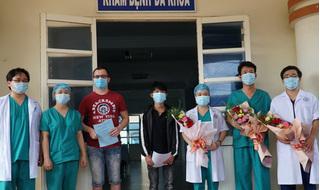 Hai bệnh nhân Covid-19 đầu tiên ở Quảng Ngãi được xuất viện