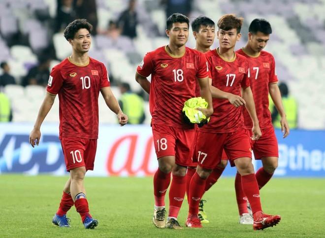 Danh sách tập trung của đội tuyển Việt Nam
