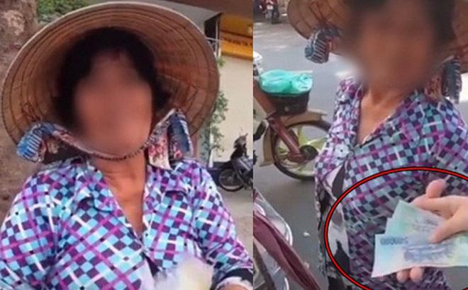 Quay clip giúp người phụ nữ bán chè lề đường, YouTuber bị đòi 2 triệụ