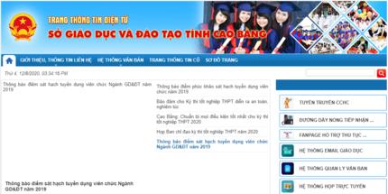 Cách tra cứu điểm thi THPT quốc gia 2020 tỉnh Cao Bằng nhanh nhất