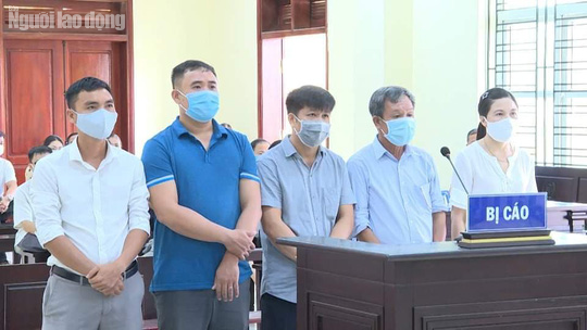 Xét xử 5 cựu cán bộ ở TP Thanh Hóa gây thất thoát 1,4 tỉ đồng