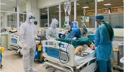 15 bệnh nhân Covid-19 đang rất nặng, tiên lượng tử vong cao