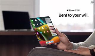 iPhone gập sắp ra mắt có camera và Touch ID dưới màn hình