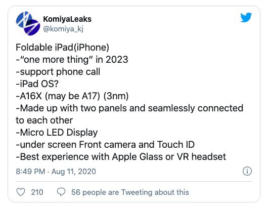 iphone gập