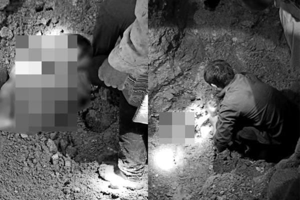 Đất đá đổ sập vào nhà lúc nửa đêm, 2 cháu bé tử vong