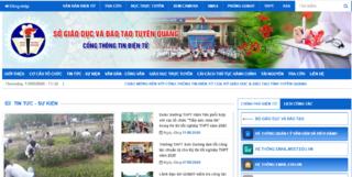 Tra cứu điểm thi THPT quốc gia 2020 tỉnh Tuyên Quang ở đâu nhanh nhất