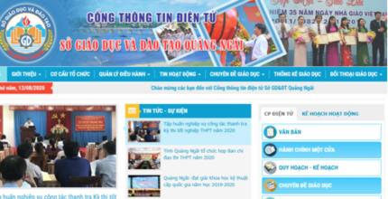 Tra cứu điểm thi THPT quốc gia 2020 tỉnh Quảng Ngãi ở đâu nhanh nhất?