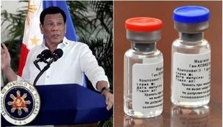 Tổng thống Philippines ấn định ngày tiêm vắc-xin Covid-19 của Nga