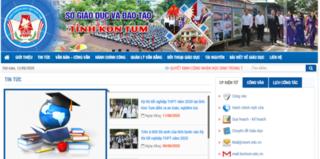 Tra cứu điểm thi THPT quốc gia 2020 tỉnh Kon Tum ở đâu nhanh nhất?